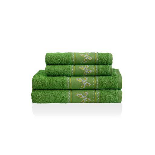Jogo-de-Banho-Malta-Verde-4-pecas-Camesa