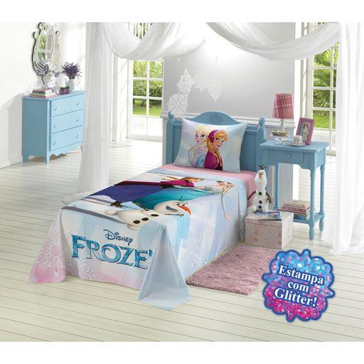 Jogo-de-Cama-Estampado-Frozen-com-Glitter-3-Pecas