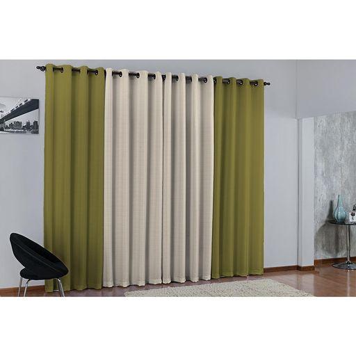 Cortina-de-Parede-para-varao-Duda-Prime-Verde-1-peca-Textil-Lar