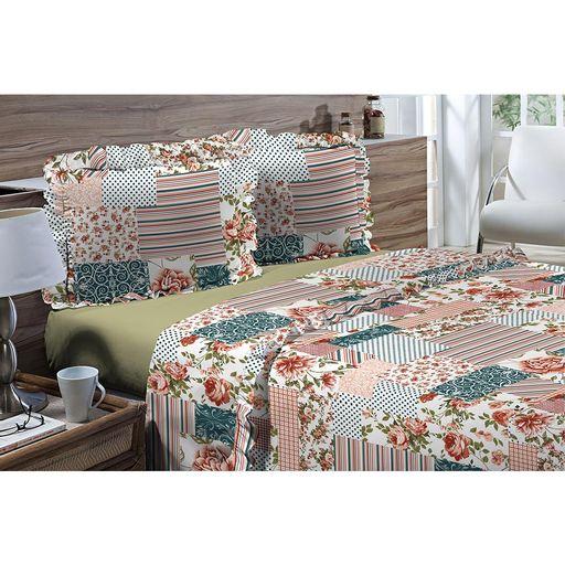 Jogo-de-Cama-Solteiro-180-fios-Romantique-Patchwork-3-pecas-Textil-Lar