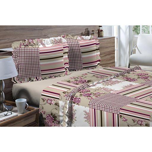Jogo-de-Cama-Solteiro-180-fios-Romantique-Patchwork-Nude-3-pecas-Textil-Lar