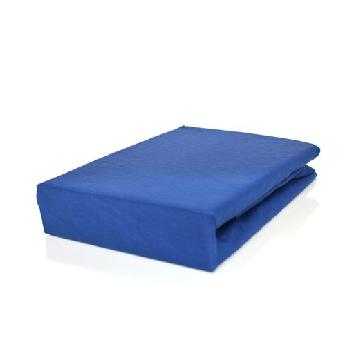 e5fe38c81f Lençol Avulso com elástico Queen 180 fios Innovare Azul Marinho 1 peça  Textil Lar. Produto Esgotado. Cama