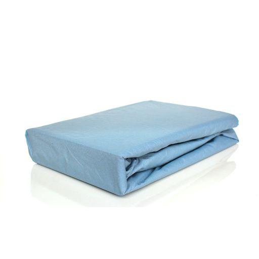 28a13627ba Lençol Avulso com elástico Queen 180 fios Innovare Azul Claro 1 peça Textil  Lar. Produto Esgotado