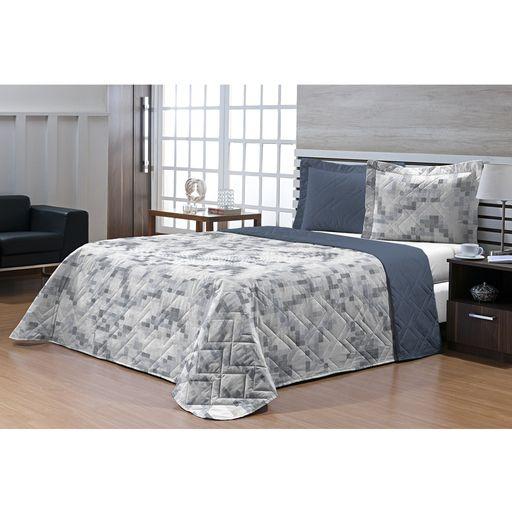Kit-Cobre-Leito-Casal-200-fios-Top-Confort-Pixel-3-pecas-Textil-Lar