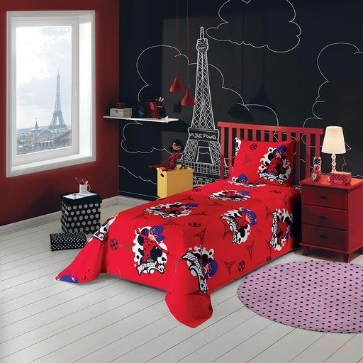 jogo-de-cama-solteiro-laydbug-vermelho
