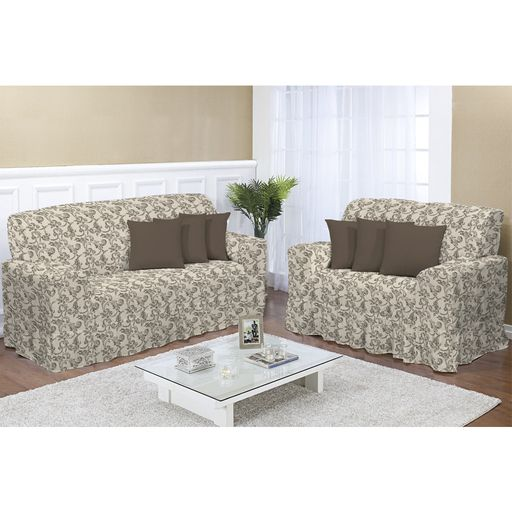 Kit-capa-de-sofa-2-e-3-lugares-decore-marrom-2-pecas-textil-lar