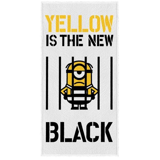 TOALHA-DE-BANHO-MINIONS-YELLOW-IS-THE-NEW-BLACK