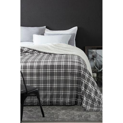 Manta-Escocia-Casal-Xadrez-Cinza-Home-Design-Corttex