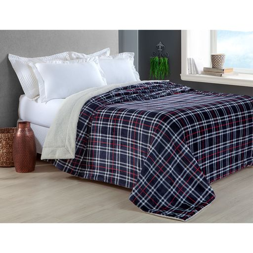 Manta-Escocia-Casal-Xadrez-Marinho-Home-Design-Corttex