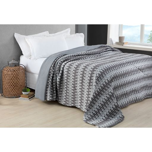 Colcha-Comfort-Casal-Dream-Cinza-Home-Design-Corttex