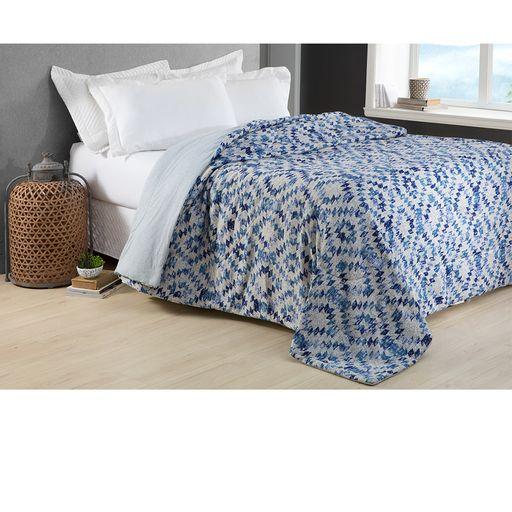 Colcha-Comfort-Casal-Sunshine-Azul-Home-Design-Corttex