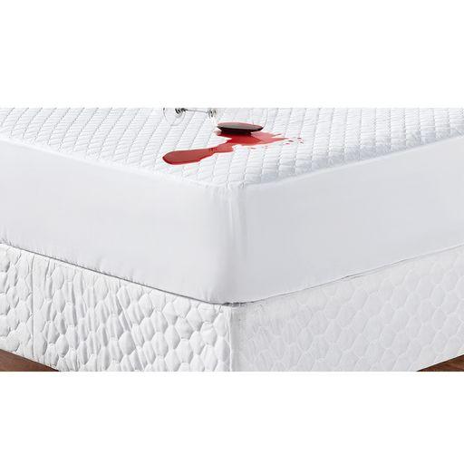 Protetor-de-Colchao-Casal-Sleep-Matelado-Branco-Casaborda