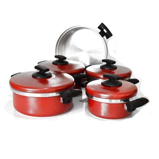 Jogo-de-Panela-Plus-Craqueado-Vermelho-5-Pecas-Cooklar-