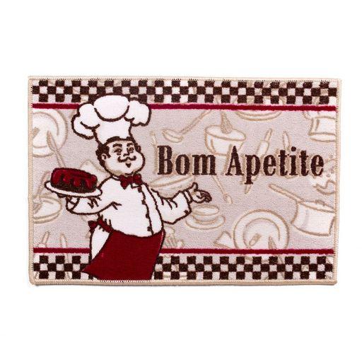 Tapete-de-Cozinha-60cm-x-40cm-Gourmet-Attuale-Cozinheiros-Bege-Corttex