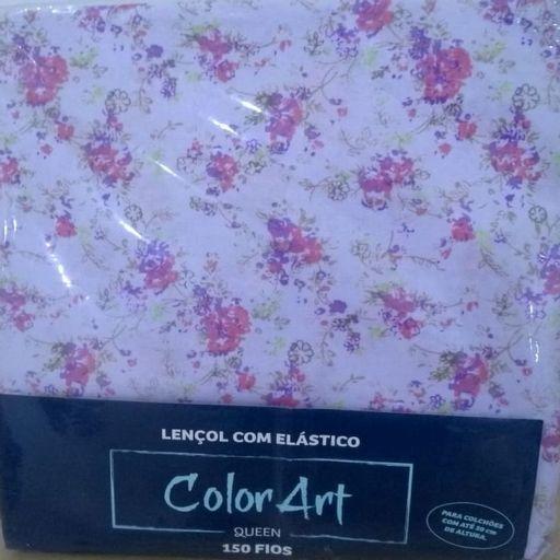 Lencol-de-Elastico-Queen-Microfibra-Lilas-Floral-Color-Art-Corttex