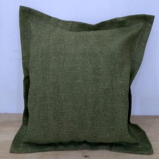 Kit-Capa-Almofada-com-aba-Decore-Verde-2-pecas-Textil-Lar-