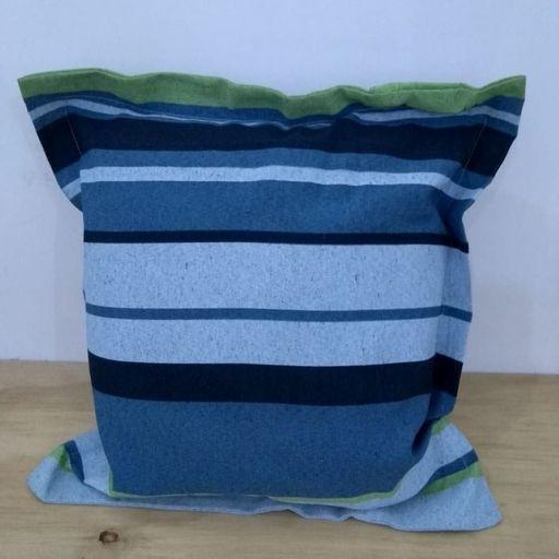 Kit-Capa-Almofada-com-aba-Decore-Verde-Listrada-2-pecas-Textil-Lar-
