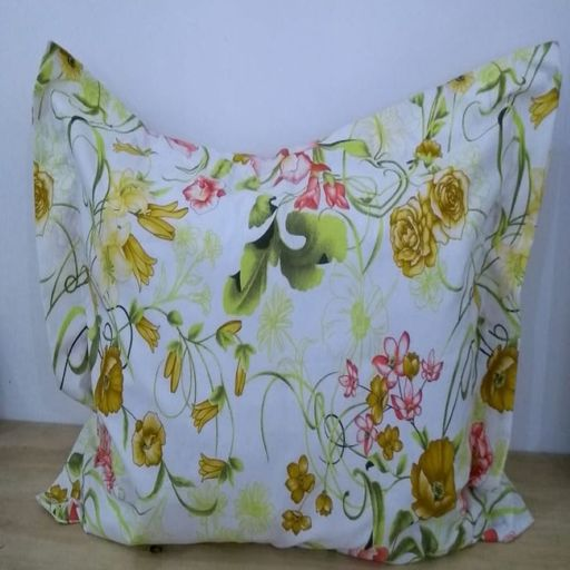 Fronha-Avulsa-com-aba-180-fios-Innovare-Floral-Amarela-Textil-Lar