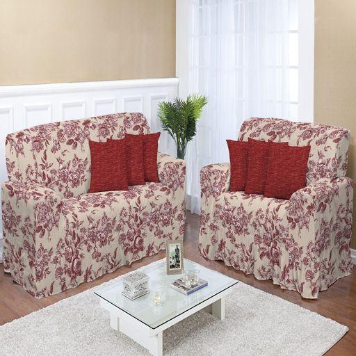 Kit-Capa-de-Sofa-2-e-3-lugares-Decore-Cereja-2-pecas-Textil-Lar-