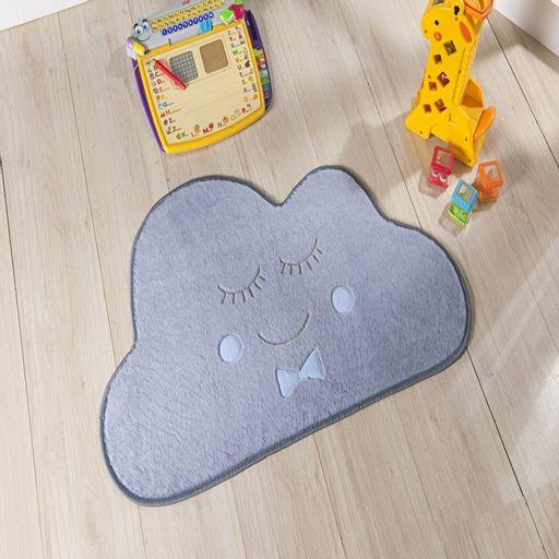 Tapete-Premium-Baby-Nuvem-82cm-x-52cm-Cinza-e-Azul-Guga-Tapetes
