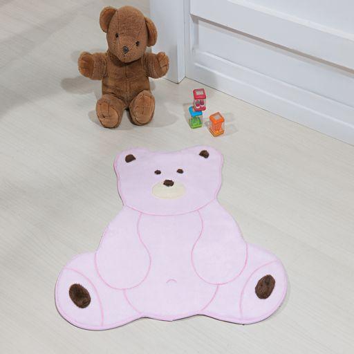 Tapete-Premium-Baby-Urso-Fofo-74cm-x-70cm-Rosa-Guga-Tapetes
