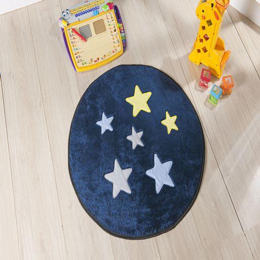 Tapete-Premium-Baby-Estrela-65cm-Azul-Marinho-Guga-Tapetes