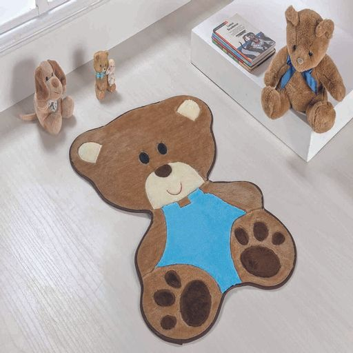 Tapete-Premium-Baby-Bebe-Urso-78cm-x-54cm-Azul-Turquesa-Guga-Tapetes-