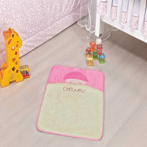 Tapete-Premium-Baby-Bebe-Cheguei-68cm-x-48cm-Rosa-Guga-Tapetes