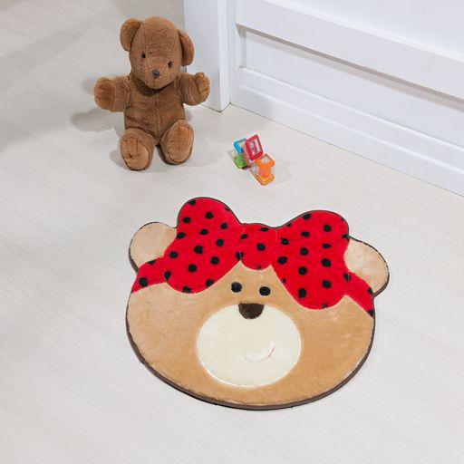 Tapete-Premium-Baby-Ursinha-Laco-75cm-x-62cm-Vermelho-Guga-Tapetes