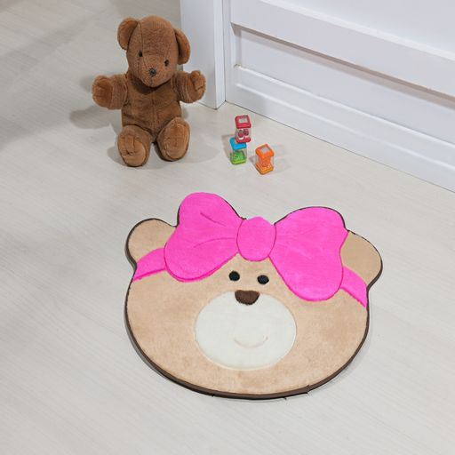 Tapete-Premium-Baby-Ursinha-Laco-75cm-x-62cm-Pink-Guga-Tapetes