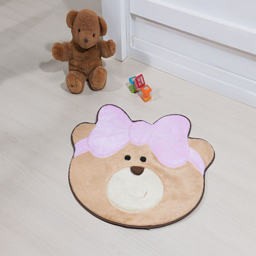 Tapete-Premium-Baby-Ursinha-Laco-75cm-x-62cm-Rosa-Guga-Tapetes