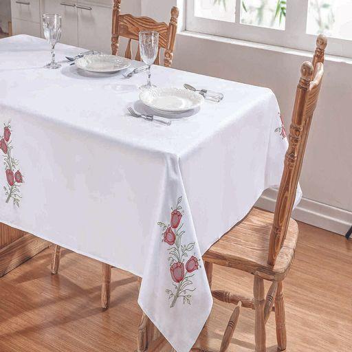 Toalha-de-Mesa-Quadrada-Primavera-Branco-e-Vermelho-Guga-Tapetes-