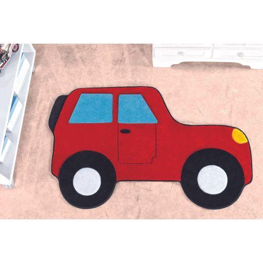 Tapete-Premium-Baby-Carro-Aventura-88cm-x-62cm-Vermelho-Guga-Tapetes