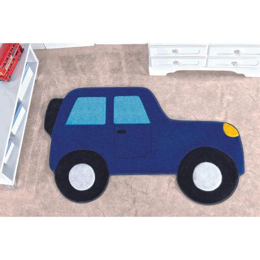 Tapete-Premium-Baby-Carro-Aventura-88cm-x-62cm-Azul-Royal-Guga-Tapetes