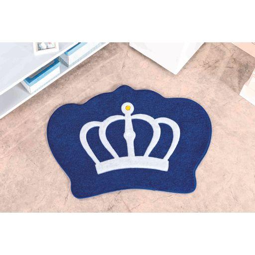 Tapete-Premium-Baby-Coroa-86cm-x-64cm-Azul-Royal-Guga-Tapetes