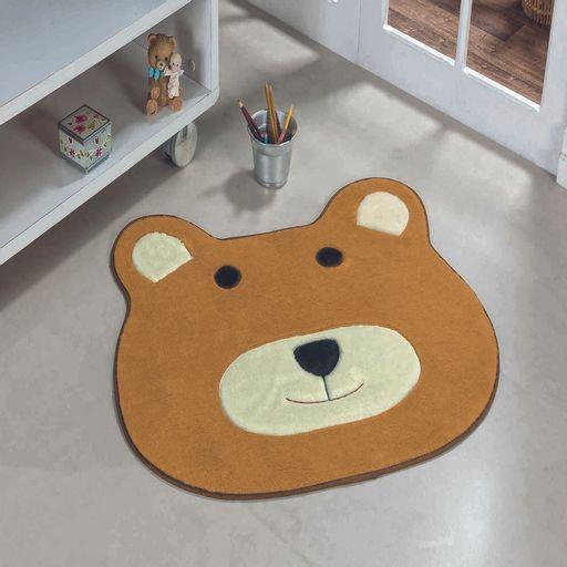 Tapete-Premium-Baby-Urso-74cm-x-64cm-Caramelo-Guga-Tapetes