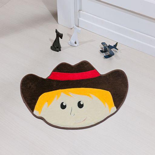 Tapete-Premium-Baby-Cowboy-78cm-x-55cm-Cafe-Guga-Tapetes