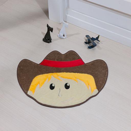 Tapete-Premium-Baby-Cowboy-78cm-x-55cm-Castor-Guga-Tapetes