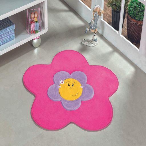 Tapete-Premium-Baby-Menina-Flor-70cm-x-70cm-Pink-Guga-Tapetes-