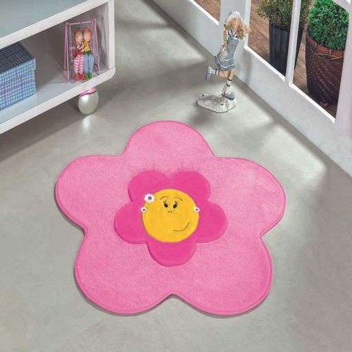 Tapete-Premium-Baby-Menina-Flor-70cm-x-70cm-Rosa-Guga-Tapetes-