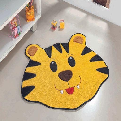 Tapete-Premium-Baby-Tigre-78cm-x-66cm-Ouro-Guga-Tapetes-