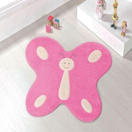 Tapete-Premium-Baby-Borboleta-Feliz-88cm-x-66cm-Rosa-Guga-Tapetes
