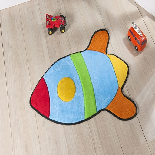 Tapete-Premium-Baby-Foguete-76cm-x-63cm-Azul-Turquesa-Guga-Tapetes