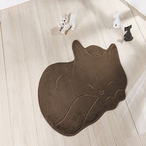 Tapete-Premium-Baby-Gato-Soneca-88cm-x-62cm-Cafe-Guga-Tapetes