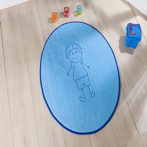 Tapete-Premium-Baby-Italo-78cm-x-68cm-Azul-Turquesa-Guga-Tapetes