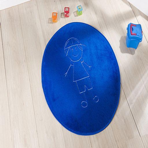 Tapete-Premium-Baby-Italo-78cm-x-68cm-Azul-Royal-Guga-Tapetes