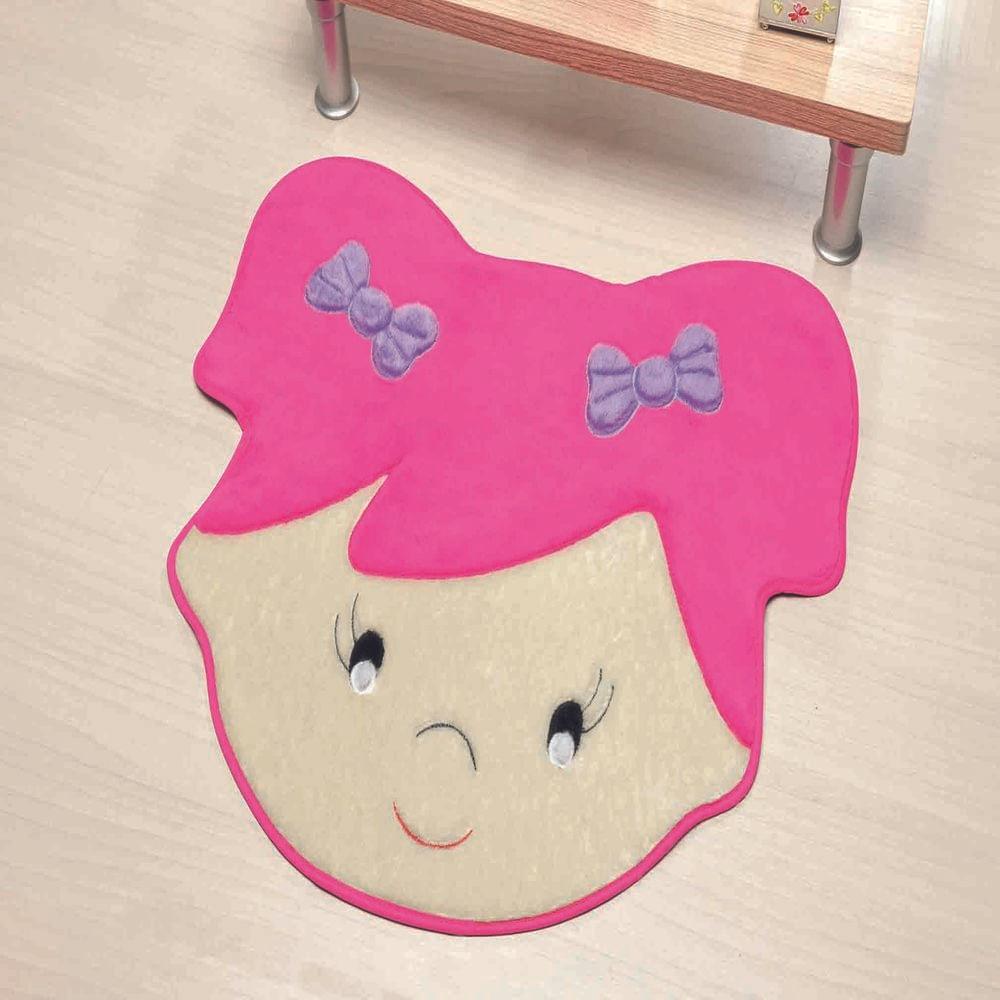 Tapete Premium Baby Sara 72cm x 60cm Pink Guga Tapetes