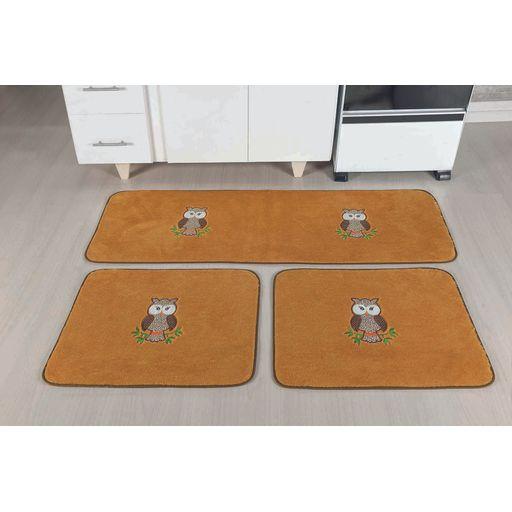 Kit-de-Cozinha-Premium-Coruja-Caramelo-Guga-Tapetes-