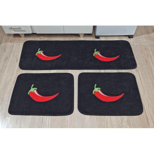 Kit-de-Cozinha-Premium-Pimenta-Preto-Guga-Tapetes