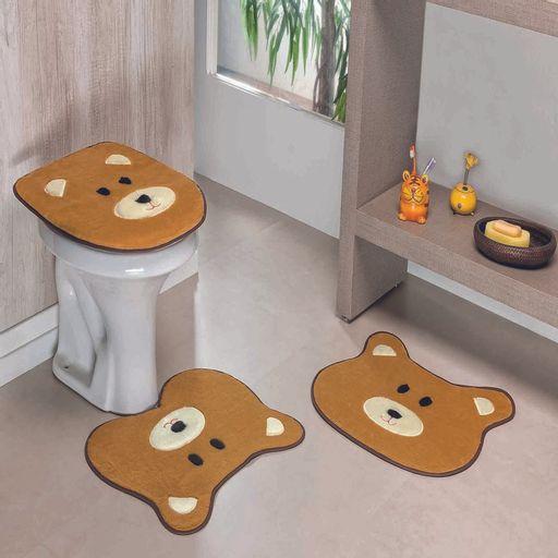 Kit-Tapete-Banheiro-Premium-Urso-Caramelo-Guga-Tapetes-3-pecas